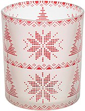 Profumi e cosmetici Candeliere con motivo - Yankee Candle Red Nordic Frosted