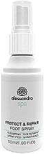 Profumi e cosmetici Spray antimicrobico per piedi - Alessandro International Spa Protect & Repair Foot Spray