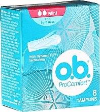 Profumi e cosmetici Tamponi, 8 pezzi - O.b. ProComfort Mini Dynamic Fit Tampons