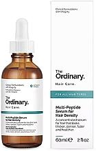 Profumi e cosmetici Siero addensante multipeptidico - The Ordinary Multi Peptide Serum For Hair Density
