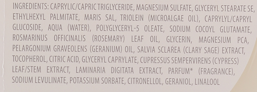 Scrub corpo salino - Ren Atlantic Kelp And Magnesium Salt Anti-Fatigue Exfoliating Body Scrub — foto N5