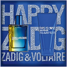 Profumi e cosmetici Zadig & Voltaire This is Love! for Him - Set (edt/50ml + sh/gel/50ml)