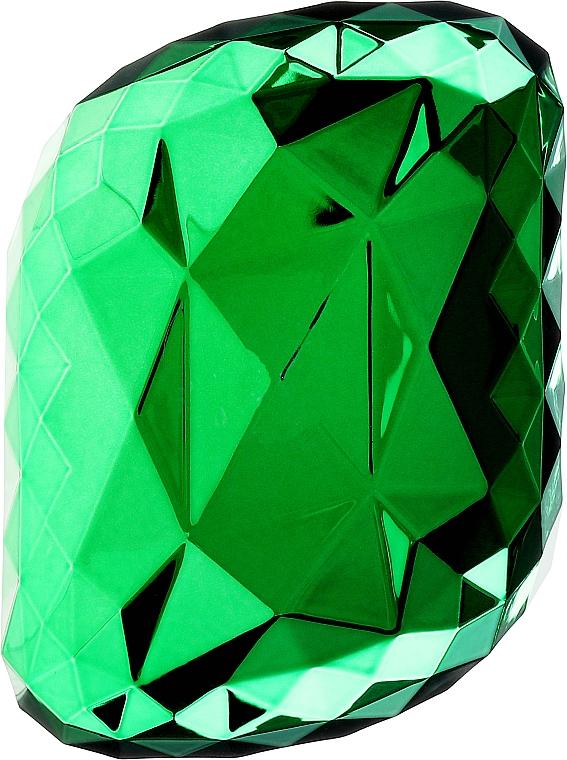 Spazzola per capelli, verde - Twish Spiky Hair Brush Model 4 Diamond Green