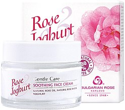 Profumi e cosmetici Crema viso lenitiva - Bulgarian Rose Rose & Joghurt Soothing Face Cream