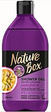 Profumi e cosmetici Gel doccia - Nature Box Passion Fruit oil Shower Gel