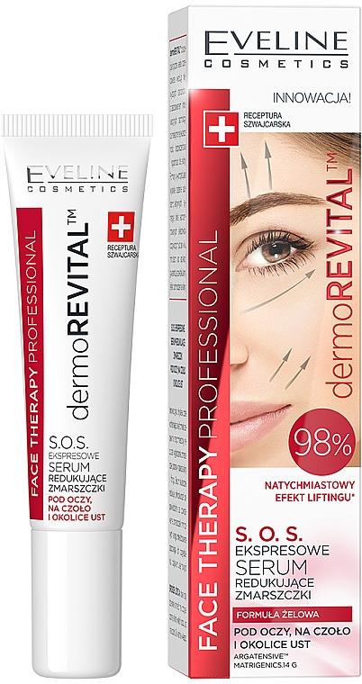 Siero viso antirughe - Eveline Cosmetics Therapy Professional SOS DermoRevital
