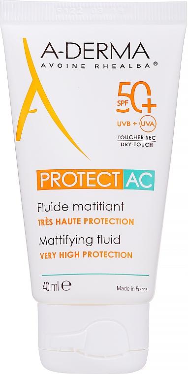 Fluido opacizzante viso - A-Derma Protect AC Mattifying Fluid SPF 50