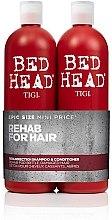 Profumi e cosmetici Set - Tigi Bed Head Resurrection Shampoo&Conditioner (sh/750ml + cond/750ml)