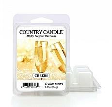 Profumi e cosmetici Cera per lampada aromatica - Country Candle Cheers Cheesecake Wax Melts