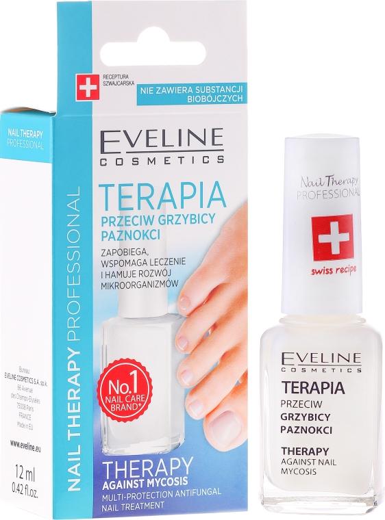 Trattamento antifungino unghie - Eveline Cosmetics Nail Polish for Nail Fungus Feet & Hands Mykose