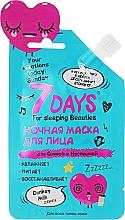 Profumi e cosmetici Maschera viso da notte - 7 Days Your Emotions Today