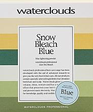 Profumi e cosmetici Polvere schiarente capelli - Waterclouds Snow Bleach Blue