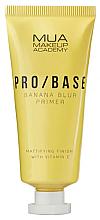 Profumi e cosmetici Primer viso opacizzante - Mua Pro/ Base Banana Blur Primer