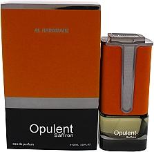 Profumi e cosmetici Al Haramain Opulent Saffron - Eau de Parfum
