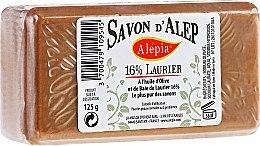 Profumi e cosmetici Sapone con olio di alloro, 16% - Alepia Soap 16% Laurel