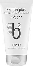 Profumi e cosmetici Shampoo per capelli - Broaer B2 Keratin Plus Nourish And Regenerate Shampoo