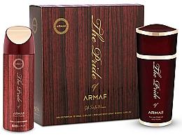 Profumi e cosmetici Armaf The Pride of Armaf - Set (edp 100 ml + deo/spray 200 ml)