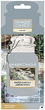 Profumi e cosmetici Deodorante per auto - Yankee Candle Car Jar Water Garden