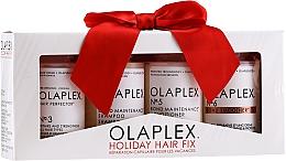 Profumi e cosmetici Set - Olaplex Holiday Hair Fix (cond/100ml + shmp/100ml + h/cr/100ml + ser/100ml)