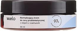 Profumi e cosmetici Crema normalizzante con olio di cumino nero - Melo