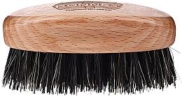 Profumi e cosmetici Spazzola da barba in legno con setole naturali, leggera - Ronney Professional Barber Small Brush