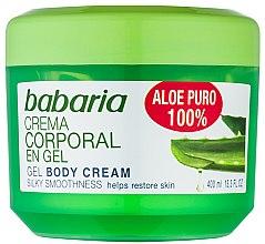 Profumi e cosmetici Gel corpo per rigenerante - Babaria Aloe Vera