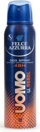 Deodorante antitraspirante - Felce Azzurra Deo Rebel — foto N1
