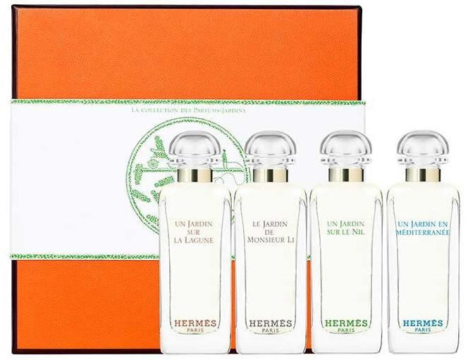 Hermes Miniature Set Garden - Set (edt/7.5ml + edt/7.5ml + edt/7.5ml + edt/7.5ml)