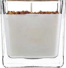 Profumi e cosmetici Candela profumata naturale - Ringa Black Afragano With Amber Candle