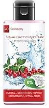 Profumi e cosmetici Lozione micellare con estratto di mirtillo rosso - GoCranberry