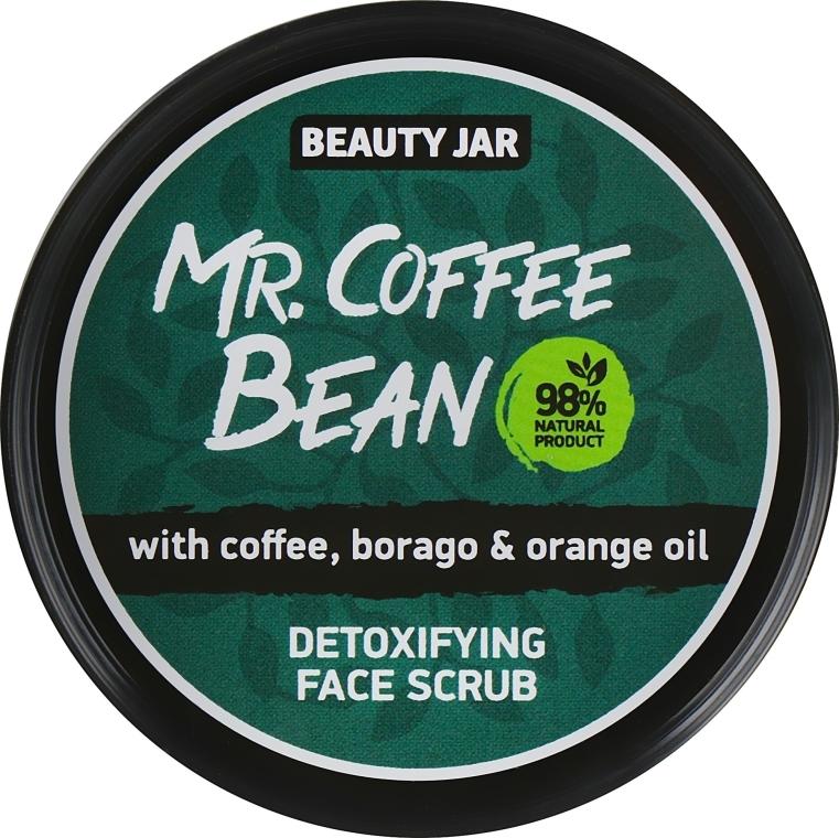 "Scrub viso disintossicante ""Mr. Coffee Bean"" - Beauty Jar Detoxifying Face Scrub"
