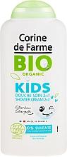 Profumi e cosmetici Crema doccia 2in1, per bambini - Corine de Farme Bio Organic Shower Gel