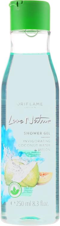 """Gel doccia """"Acqua di cocco e melone"""" - Oriflame Love Nature Coconut Water&Melon Shower Gel"""