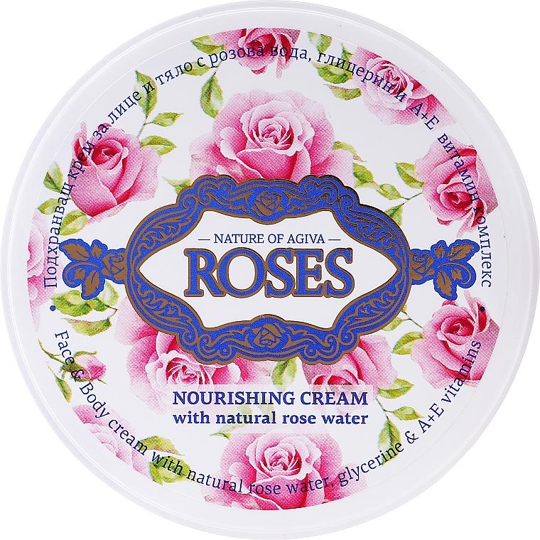 Crema nutriente universale - Nature of Agiva Roses Face Cream