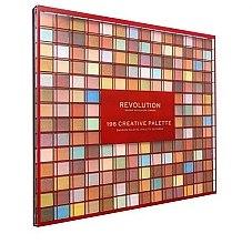 Profumi e cosmetici Palette ombretti, 196 tonalità - Makeup Revolution 196 Creative Palette Eyeshadow Palette