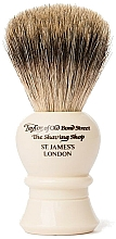 Profumi e cosmetici Pennello da barba, P2234, beige - Taylor of Old Bond Street Shaving Brush Pure Badger size M