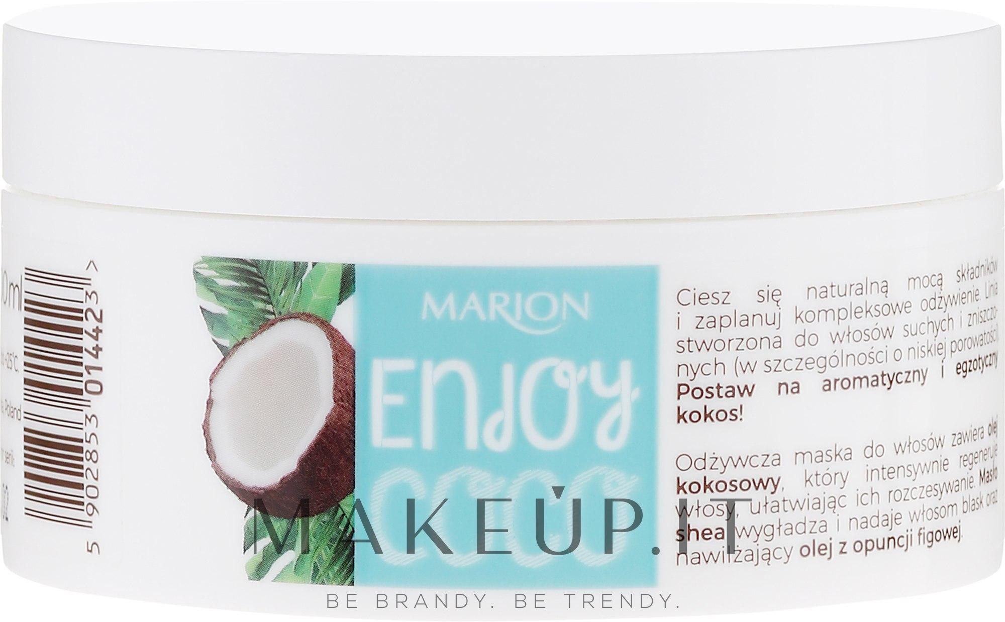 Maschera capelli nutriente all'olio di cocco - Marion Enjoy Coco Nourishing Hair Mask — foto 200 ml