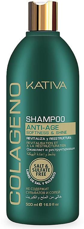 Shampoo al collagene - Kativa Colageno Shampoo — foto N1