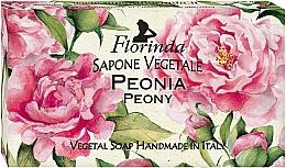 """Profumi e cosmetici Sapone naturale """"Peonia"""" - Florinda Peony Natural Soap"""