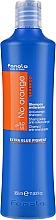 Profumi e cosmetici Shampoo per capelli colorati con tonalità scure - Fanola No Orange Extra Blue Pigment Shampoo