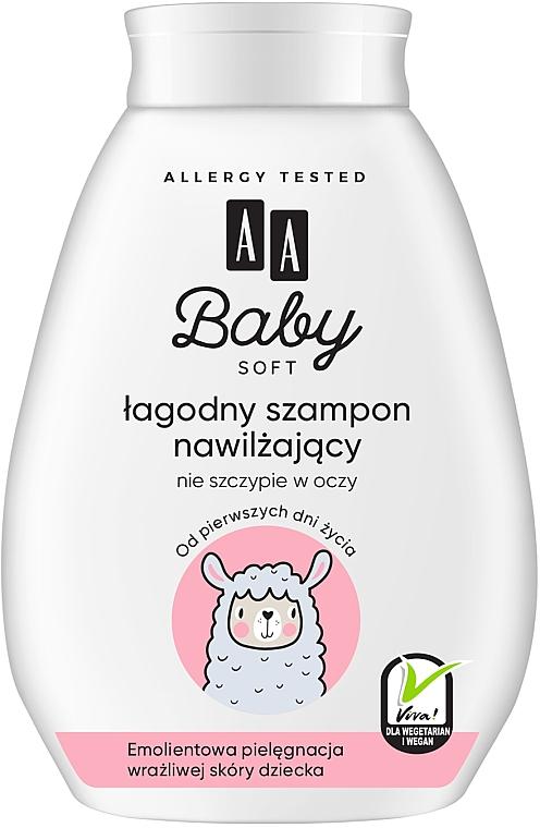 Shampoo idratante delicato - AA Baby Soft