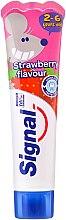 Profumi e cosmetici Dentifricio alla fragola per bambini - Signal Kids Toothpaste