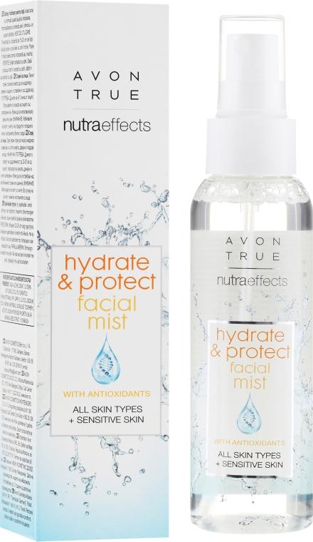 Mist viso - Avon True Nutra Effect Hydrate & Protect Facial Mist — foto N1
