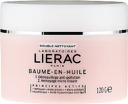 Profumi e cosmetici Balsamo detergente - Lierac Double Nettoyant Baume-En-Huile
