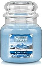 Profumi e cosmetici Candela profumata in barattolo di vetro - Country Candle Alpine Retreat