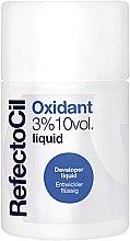 Profumi e cosmetici Ossidante 3% liquido - RefectoCil Oxidant 3% 10 vol. Liquid