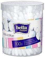 Profumi e cosmetici Bastoncini cotonati - Bella (nell'imballaggio rotondo)