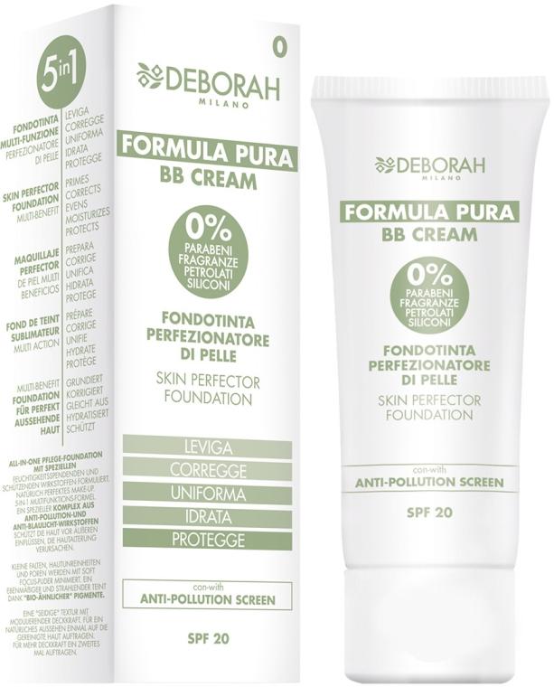 BB crema - Deborah Milano Formula Pura BB Cream 5in1