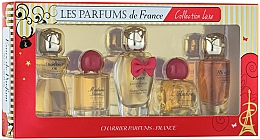 Profumi e cosmetici Charrier Parfums Collection Luxe - Set (edp/9.4ml+edp/9.3ml+edp/12ml+edp/8.5ml+edp/9.5ml)