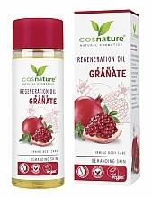 """Profumi e cosmetici Olio corpo rigenerante """"Melograno"""" - Cosnature Regenerating Oil Pomegranate"""